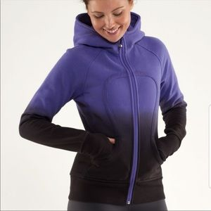 Lululemon Ombre Scuba Full Zip Hooded Sweatshirt